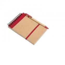 Block notes con penna a...