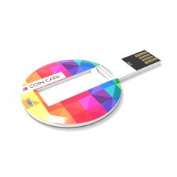 Chiavetta USB rotonda BG006