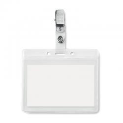 Porta badge con clip MO9642